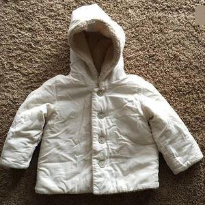 Baby Gap Girl 18-24 month Fleece Coat Hoodie